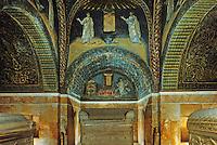 Ravenna: Mausoleum of Galla Placidia, 5th century.