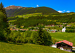 Oesterreich, Salzburger Land, Pinzgau, Zillertal Arena, Wald im Pinzgau: beschaulicher Erholungsort | Austria, Salzburger Land, Pinzgau, Zillertal Arena, Wald at Pinzgau: quiet holiday resort