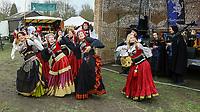 Gernsheim 09.03.2019: Mittelaltermarkt mit Mittelalterlicher Hochzeit<br /> Tanzgruppe Zariefe tritt auf dem Mittelalter Spektakel auf<br /> Foto: Vollformat/Marc Schüler, Schäfergasse 5, 65428 R'eim, Fon 0151/11654988, Bankverbindung KSKGG BLZ. 50852553 , KTO. 16003352. Alle Honorare zzgl. 7% MwSt.