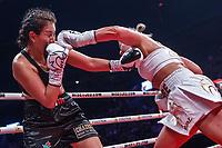 La boxeuse Marie-Eve Dicaire au Centre Bell,  le  20 juillet 2017<br /> <br /> PHOTO : Denis Germain<br />  - Agence Quebec Presse<br /> <br /> <br /> <br /> <br /> <br /> PHOTO : Agence Quebec Presse