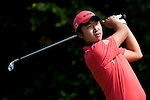 SHENZHEN, CHINA - OCTOBER 31: Il-Hwan Park of South Korea tees off on the 5th hole during the day three of Asian Amateur Championship at the Mission Hills Golf Club on October 31, 2009 in Shenzhen, Guangdong, China.  (Photo by Victor Fraile/The Power of Sport Images) *** Local Caption *** Il-Hwan Park