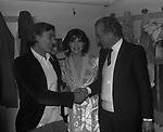 """FRANCO SILVA CON LA FIGLIA MITA MEDICI E MASSIMO SERATO<br /> PRIMA DEL """"IL GATTOPARDO """" TEATRO BRANCACCIO ROMA 1979"""