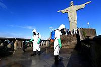 13/08/2020 - HIGIENIZAÇÃO NO CORCOVADO-RJ