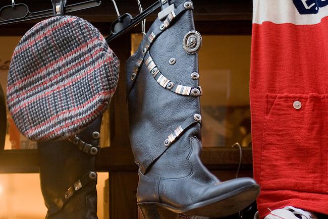 Hat, Shoes, Omera & Ceclia, Rome, Italy