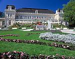 Austria, Upper Austria, Salzkammergut, Bad Ischl: Spa and Congress Building | Oesterreich, Oberoesterreich, Salzkammergut, Bad Ischl: Kurhaus, Kongresshaus