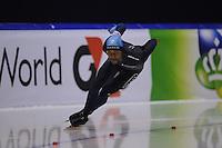 SCHAATSEN: HEERENVEEN: Thialf, World Cup, 03-12-11, 500m B, Shani Davis USA, ©foto: Martin de Jong