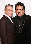 """Lou Liberatore and Joe Brancato during the Opening Night Celebration for """"Daniel's Husband"""" at the West Bank on October 28, 2018 in New York City."""