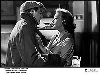 Prod DB © Intermondia Films / DR<br /> GAS-OIL (GAS OIL) de Gilles Grangier 1955 FRA<br /> avec Jean Gabin et Jeanne Moreau<br /> dialogues de Michel Audiard<br /> couple, au revoir, partir, separation,