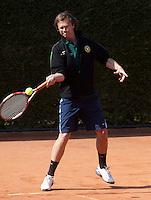 11-5-09, Tennis, Sportpromotion tennisdag, Chris Vermeeren