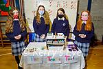 Presentation Castleisland students Fiona McSweeney, Bláithín McElligott, Cornelia Mangan and Áine Walsh with their Teachers Toolbox project at the Presentation Castleislands annual school enterprise competition.