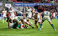 Friday 8th October 2021<br /> <br /> Callum Reid during the URC Round 3 clash between Ulster Rugby and Benetton Rugby at Kingspan Stadium, Ravenhill Park, Belfast, Northern Ireland. Photo by John Dickson/Dicksondigital