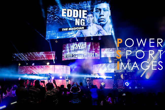One Championship - Heroes of the World Eddie Ng of Hong Kong vs Honorio Banario of Philippines on 13 August 2016 at The Venetian Macao Cotai Arena in Macau, China. Photo by Marcio Machado / Power Sport Images