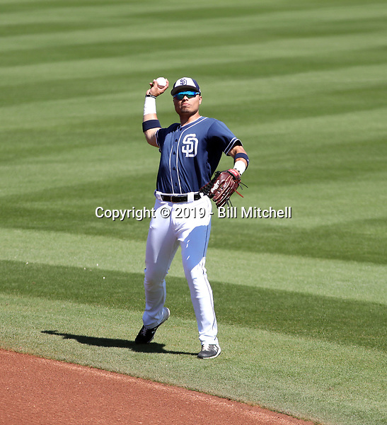 Tirso Ornelas - San Diego Padres 2019 spring training (Bill Mitchell)