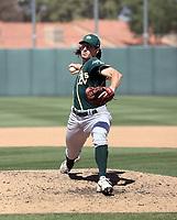 Chase Cohen - Oakland Athletics 2021 spring training (Bill Mitchell)