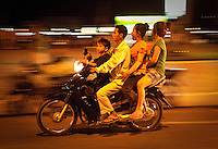 Motobikes ro simply motos are by far the most common form of mechanized transportation in Cambodia