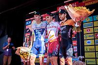 podium:<br /> <br /> 1. Attilio Viviani (ITA/Cofidis)<br /> 2. Timothy Dupont (BEL/Wanty Gobert)<br /> 3. Michaël Van Staeyen (BEL/Roompot Charles)<br /> <br /> 94th Schaal Sels 2019<br /> One Day Race: Merksem  >  Merksem  (UCI 1.1)<br /> ©kramon