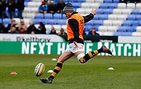 Photo: Richard Lane/Richard Lane Photography. London Irish v Wasps. Aviva Premiership. 26/11/2017. Wasps' Danny Cipriani warm up as he returns to playing after injury.