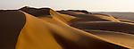 Sand Dunes at sunrise. Wahiba Sands. Oman.