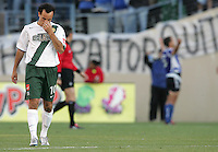 25 June 2005:   Landon Donovan of LA Galaxy disappoints after Alejandro Moreno of Earthquakes scored a goal during the first half of the game  at Spartan Stadium in San Jose, California.   Earthquakes leads Galaxy, 1-0 at halftime.   Mandatory Credit: Michael Pimentel / ISI