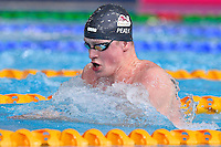 Adam Peaaty of GBR competes in 50 meter breaststroke final during Commonwealth Games Swimming, Monday, July 28, 2014 in Glasgow, United Kingdom. (Mo Khursheed/TFV Media via AP Images)