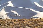 Eureka sand dunes, Eureka Valley, Eastern Sierra, Death Valley National Park, California