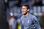 James Rodriguez of Real Madrid before the match Real Madrid vs Napoli, part of the 2016-17 UEFA Champions League Round of 16 at the Santiago Bernabeu Stadium on 15 February 2017 in Madrid, Spain. Photo by Diego Gonzalez Souto / Power Sport Images