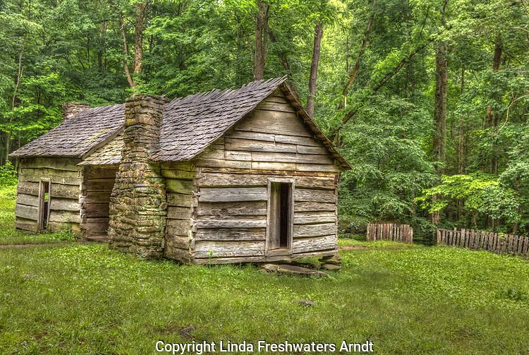 Ephraim Bales House in the Smoky Mountains