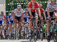 John Degenkolb (GER/Trek Segafredo) in the peloton.<br /> <br /> Stage 2: Mouilleron-Saint-Germain > La Roche-sur-Yon (183km)<br /> <br /> Le Grand Départ 2018<br /> 105th Tour de France 2018<br /> ©kramon