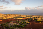 Sunrise Looking Out Over Shipwreck Beach At Molokai