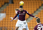 St Johnstone v Hearts…05.04.17     SPFL    McDiarmid Park<br />Bjorn Johnsen and Liam Craig<br />Picture by Graeme Hart.<br />Copyright Perthshire Picture Agency<br />Tel: 01738 623350  Mobile: 07990 594431