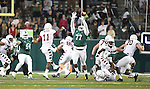 Tulane falls to Temple, 10-3, in their 2014 season finale at Yulman Stadium.
