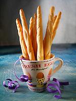 Bread stick snacks