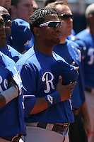 May 25th 2008:  Infielder Alberto Callaspo (13) of the Kansas City Royals during a game at the Rogers Centre in Toronto, Ontario, Canada .  Photo by:  Mike Janes/Four Seam Images