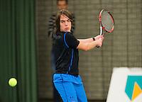Rotterdam, Netherlands, Januari 24, 2016,  ABNAMROWTT Supermatch, Sander van de Lagemaat (NED)<br /> Photo: Tennisimages/Henk Koster