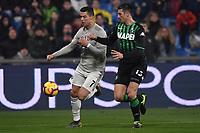 Cristiano Ronaldo of Juventus , Federico Peluso of Sassuolo <br /> Reggio Emilia 10-2-2019 Stadio Mapei, Football Serie A 2018/2019 Sassuolo - Juventus<br /> Foto Andrea Staccioli / Insidefoto