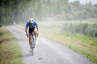 Adrien Petit (FRA/Total - Direct Energie)<br /> <br /> Dwars door het Hageland 2019 (1.1)<br /> 1 day race from Aarschot to Diest (BEL/204km)<br /> <br /> ©kramon