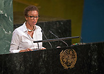 GA 72<br /> High-level meeting of the General Assembly on the appraisal of the United Nations Global Plan of Action to Combat Trafficking in Persons<br /> 25th plenary meeting<br /> <br /> SAINT VINCENT AND THE<br /> GRENADINES