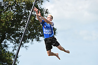 POLSTOKVERSPRINGEN/FIERLJEPPEN: VLIST: 14-08-2021, Tweekamp Holland - Friesland, Rutger Haanstra, ©Martin de Jong