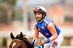 AUGUST 28, 2021:  Electric Ride with Joe Bravo aboard wins a maiden race at Del Mar Fairgrounds in Del Mar, California on August 28, 2021. Evers/Eclipse Sportswire/CSM