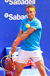24th April 2019, Real Club de Tenis, Barcelona, Spain; ATP 500, Barcelona Open Banc Sabadell, day 3; picture show Rafael Nadal (ESP) vs Leonardo ayer (ARG)
