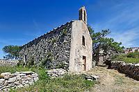 An old church in Kato Chora at Kythera island, Greece