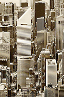 aerial photograph Citigroup Center, 601 Lexington Ave, Manhattan, New York City