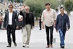 Film director Francois Ozon, the actor Fabrice Luchini, the producer Eric Altamayer and the writer Juan Mayorga attend the photocall of 'Dans La Maison' during the 60th San Sebastian Donostia International Film Festival - Zinemaldia.September 23,2012.(ALTERPHOTOS/ALFAQUI/Acero)