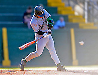 15 April 2008: Dartmouth College Big Green first baseman Michael Pagliarulo, a Junior from Winchester, MA, in action against the University of Vermont Catamounts at Historic Centennial Field in Burlington, Vermont. The Catamounts rallied from a 7-3 deficit to win 8-7 over Dartmouth in a non-conference NCAA game...Mandatory Photo Credit: Ed Wolfstein Photo