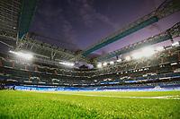 25th September 2021; Estadio Santiagp Bernabeu, Madrid, Spain; Men's La Liga, Real Madrid CF versus Villarreal CF; Santiago Bernabeu stadium before the match