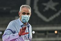 2nd July 2021; Nilton Santos Stadium, Rio de Janeiro, Brazil; Copa America, Brazil versus Chile;  Brazil manager Tite before the match