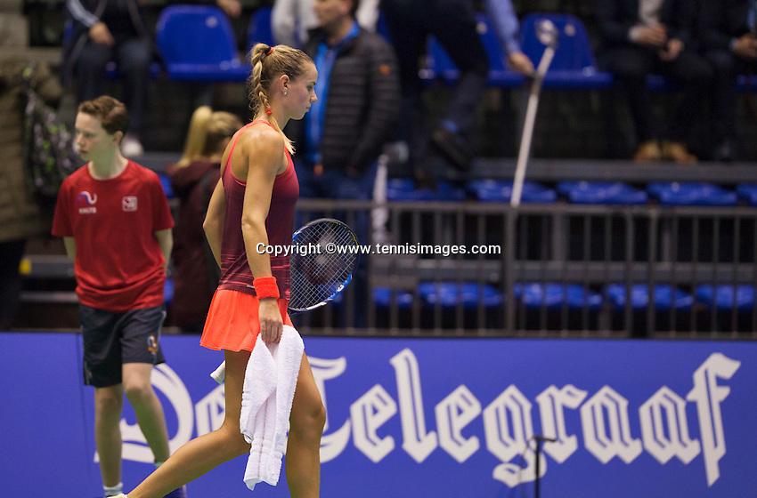 Rotterdam, Netherlands, December 19, 2015,  Topsport Centrum, Lotto NK Tennis, Arantxa Rus (NED)<br /> Photo: Tennisimages/Henk Koster