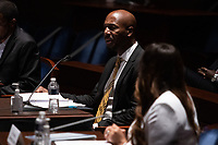 """Georgetown Law Prof. Paul Butler, testifies during a House Judiciary Committee hearing on """"Policing Practices and Law Enforcement Accountability"""", on Capitol Hill, in Washington D.C., Wednesday, June 10, 2020.<br /> Credit: Graeme Jennings / Pool via CNP/AdMedia"""