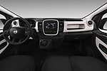 Stock photo of straight dashboard view of 2017 Nissan NV300 Optima 4 Door Cargo Van Dashboard