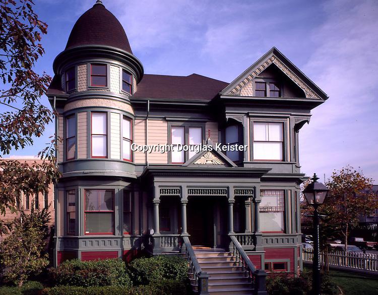 Peter Remillard house.Preservation Park.Oakland, CA
